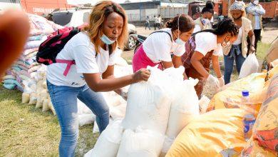 Photo of RDC: 1800 ménages nourris à Kinshasa, la ministre des PVH et personnes vulnérables remercie l'Eglise de Jésus-Christ des saints des derniers jours