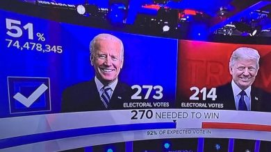 Photo of Présidentielle américaine : Joe Biden élu, Trump veut rester