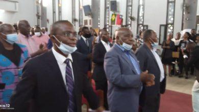 Photo of La Communauté des Bashi vivant à Kinshasa (CINYABUGUMA) tient une messe pour le rétablissement de Vital KAMERHE, gravement malade