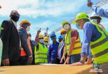 Photo of Amélioration de la desserte en eau potable :  Eustache Muhanzi satisfait de l'évolution des travaux de construction de la station de captage et de l'usine du traitement d'eau de Kinsuka et de l'Ozone