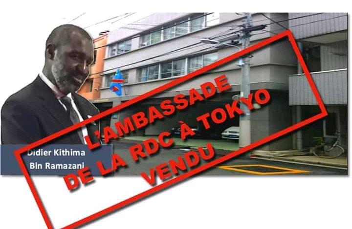 Photo of Affaires étrangères: Scandale oublié de l'ambassade de la RDC à Tokyo (Japon)