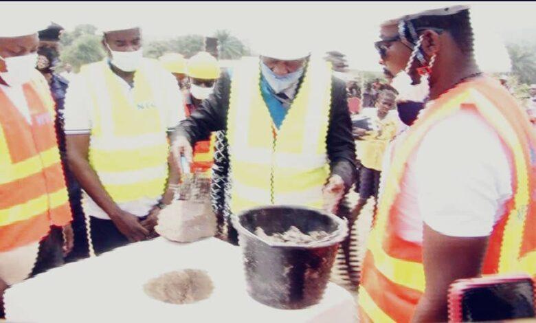 Photo of Kisenso : lancement des travaux de construction du centre d'encadrement et de professionnalisation des jeunes financés par l'ONG actionaid